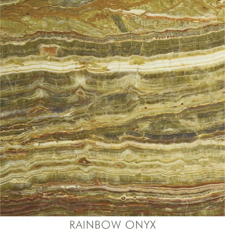 Rainbow Onyx Marble : Onyx plato marble
